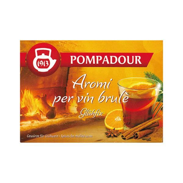 グリュー (ホットワイン用) 15袋入 POMPADOUR(ポンパドール) メール便選択で送料220円可(1個まで) 日本緑茶センター|natures