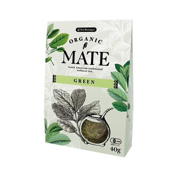 有機マテ茶 有機JAS認定 オーガニックグリーンマテ茶 日本マテ茶協会推奨 日本緑茶センター Tea Boutique リーフタイプ(クーポン利用可) natures