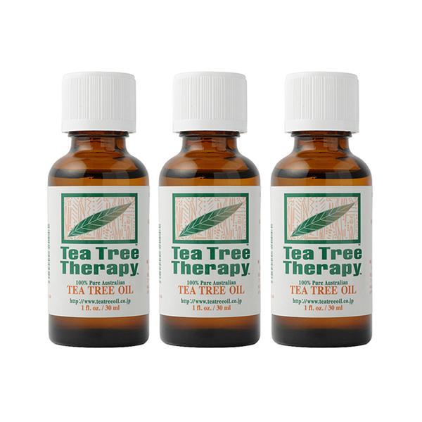 【正規輸入】ティーツリーオイル30ml 3本セット ( Melaleuca alternifolia )(クーポン利用可) natures