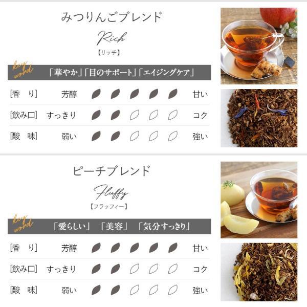 お茶 ギフト プチギフト 砂糖不使用 選べる ルイボスティー ティーバッグ 10包入りギフト缶 + People Tree ピープルツリー フェアトレード|naturobe|12
