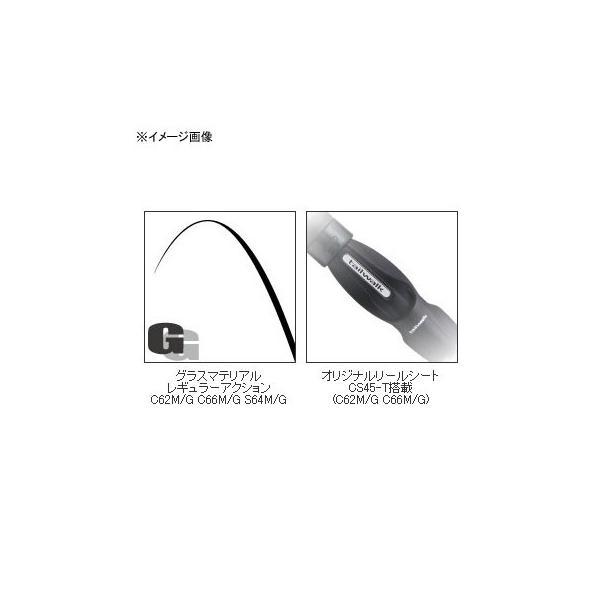 雷魚ロッド テイルウォーク ナマゾン C62M/G