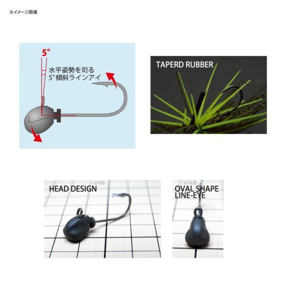 バス釣り用ハードルアー レイドジャパン エグダマ Type-LEVEL 2.5g #003 ダークシナモンブルーF