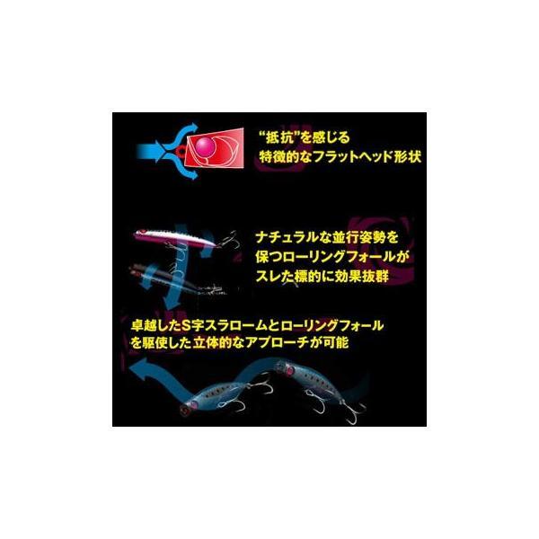 シーバス用ルアー アピア パンチライン 95mm #06 コットンキャンディー