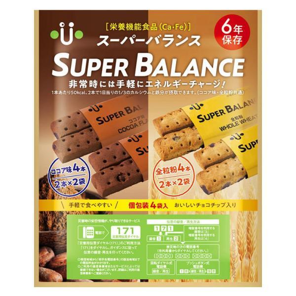 非常食/保存食・保存水 (株)ニーク総合防災 スーパーバランス SUPER-BALANCE 6YEAR 20袋入り