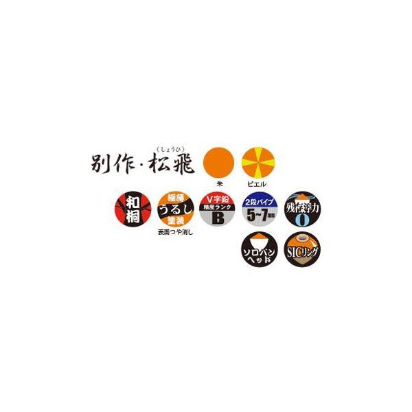 サンライン 松田ウキ松飛 別作 B-B ピエル