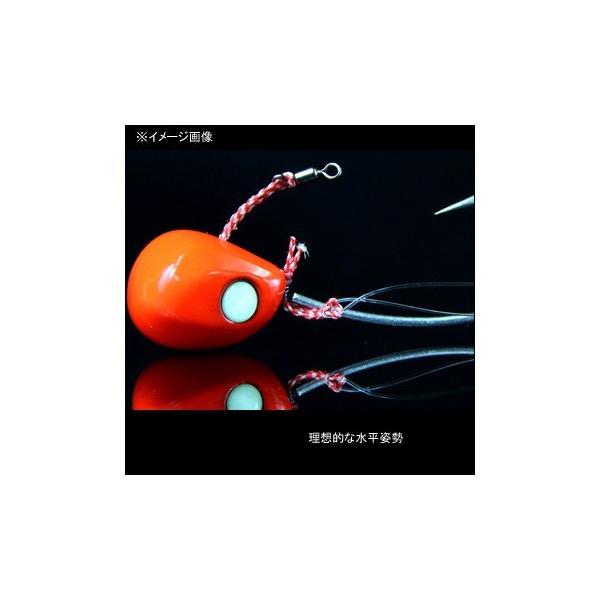 タイラバ・タイテンヤ ジャッカル ビンビンテンヤ鯛夢 8号(中) エビオレンジ×ゴールド