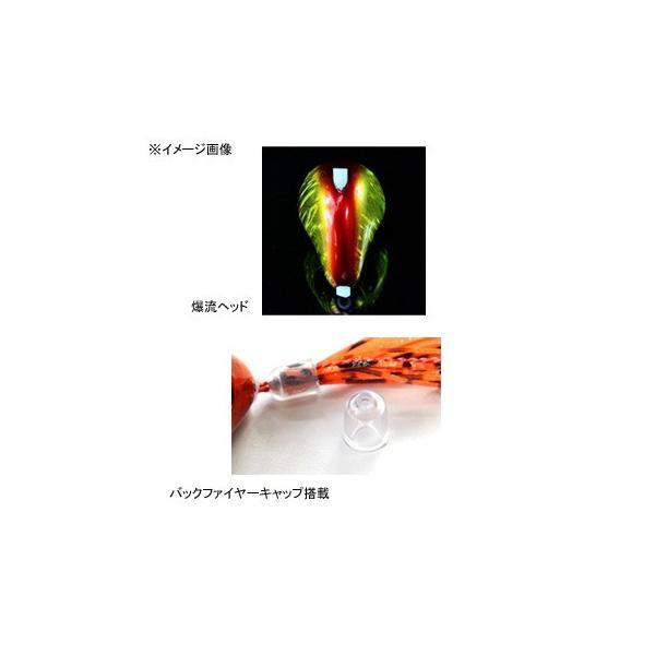 タイラバ・タイテンヤ ジャッカル 爆流 鉛式ビンビン玉スライド 130g ラメグリキン×蛍光グリーン