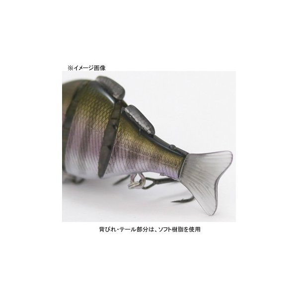 バス釣り用ハードルアー ジークラック タイニー ギリング SS 75mm #038 ゴーストライムギル