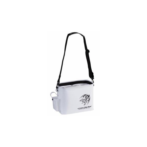 タックルバッグ クロスファクター EVAライトゲームライブウェル 30cm ホワイト