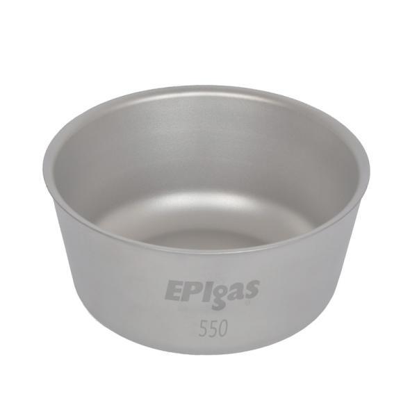 お皿・ランチボックス EPI ダブルウォールチタンボウル550 550ml