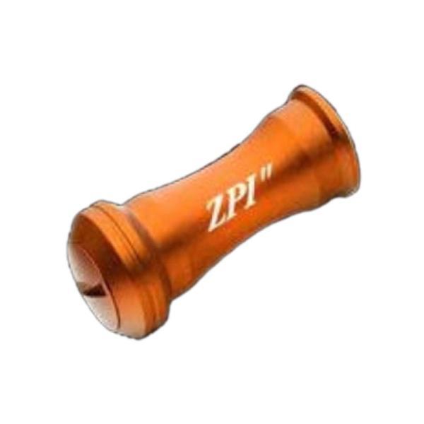 リールカスタムパーツ ZPI マシンカットアルミノブ ミディアム 6g オレンジ