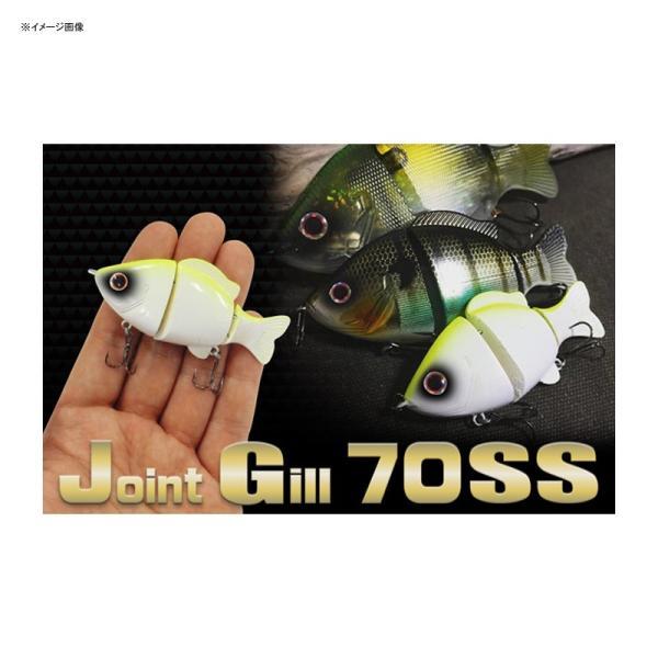 バス釣り用ハードルアー バイオベックス Joint Gill(ジョイント ギル) SS 70mm #79 リアルビワシャッド