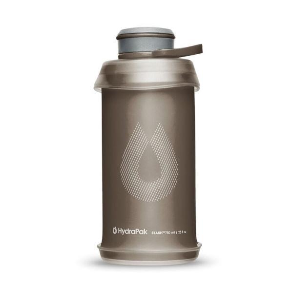 水筒・ボトル・ポリタンク Hydrapak スタッシュボトル 750ml マンモスグレー