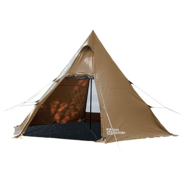テント TENT FACTORY TCワンポールテントRG DBE