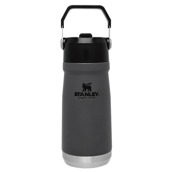 水筒・ボトル・ポリタンク スタンレー アイスフローフリップストロー真空ウォーターボトル 0.5L チャコールグレー