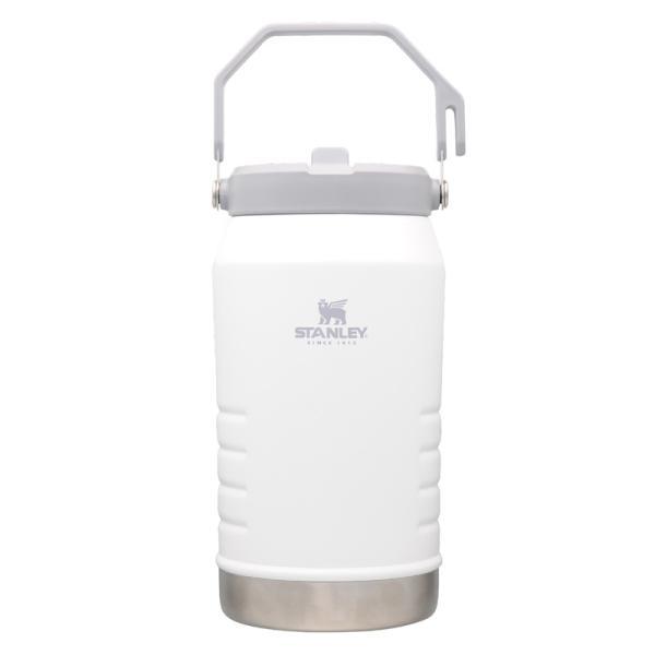 水筒・ボトル・ポリタンク スタンレー アイスフローフリップストロー真空ジャグ 1.9L ホワイト
