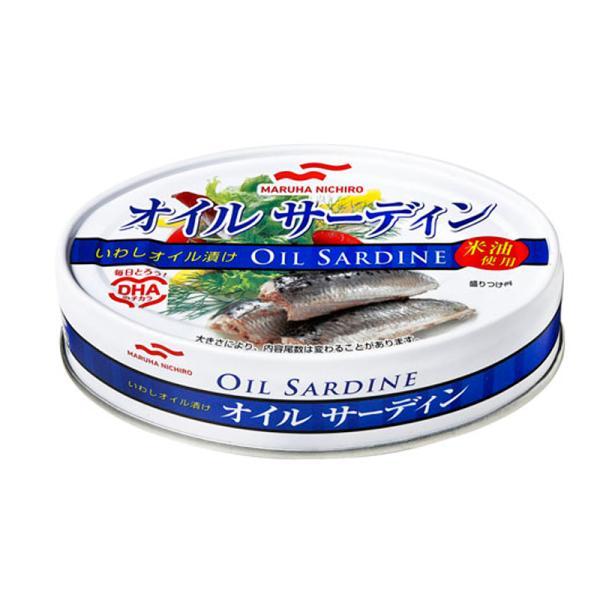 非常食/保存食・保存水 Maruha Nichiro オイルサーディン米油 60缶セット
