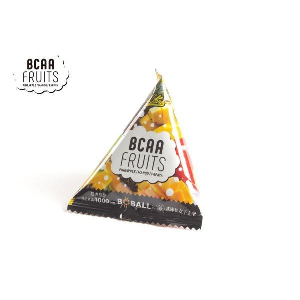 ナウカ BCAAフルーツ BCAA強化機能性トロピカルフルーツ  アミノ酸 食べやすい  20袋入 BCBALLシリーズ 国内生産|nauka|02