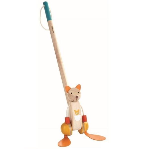プラントイ PLANTOYS ダンシングカンガルー 5700 木のおもちゃ 知育玩具