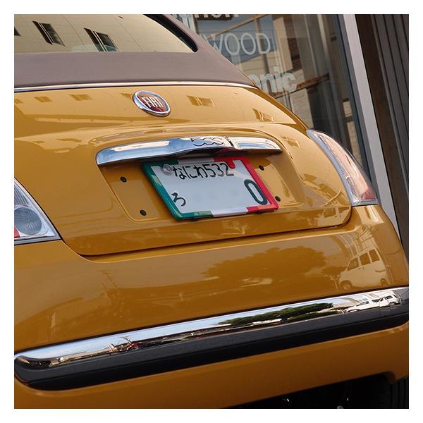 【限定モデル】イタリアカラー。ナンバープレートをスタイリッシュに「ナンバースモーラーII」新発想のナンバーフレームです。#597226#|naviokun|04