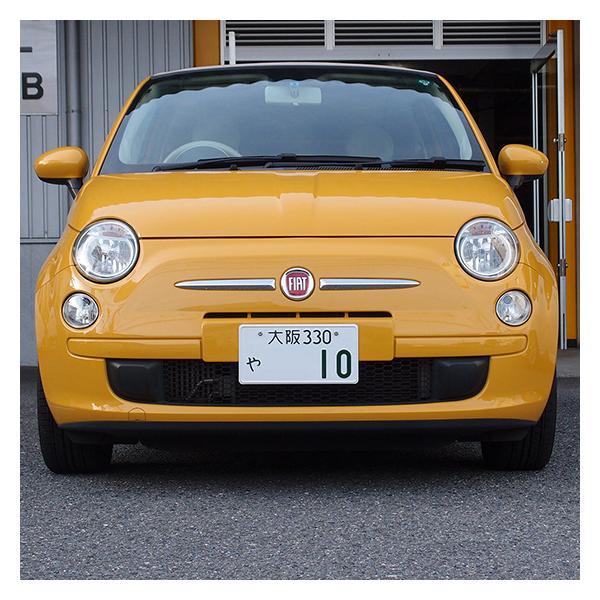 【限定モデル】イタリアカラー。ナンバープレートをスタイリッシュに「ナンバースモーラーII」新発想のナンバーフレームです。#597226#|naviokun|06