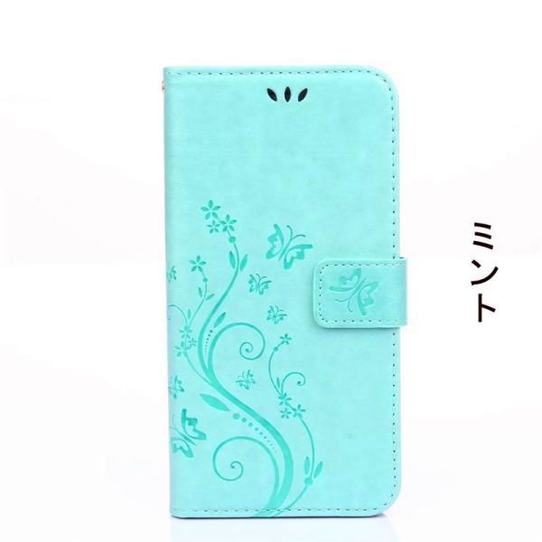 iphone6 iphone6s iphone6 plus iphone6s plusケース 手帳型 アイフォン6ケース 横向き iphone6sケース 花柄 手帳型 iphone6s plusケース|navy-pink|04