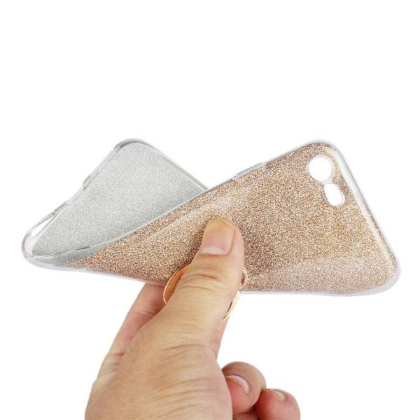 iPhone8/8 Plusケース かわいい キラキラ フィンガー リング付き ソフト スタンド アイフォン8 iPhone8 スマホケース スマホリングケース|navy-pink|06