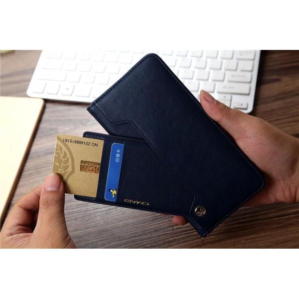 iPhone8/8 Plus対応 スマホケース 手帳型 レザーケース カード収納 iPhone8ケース 革製 高級 アイフォン8 スライド 最新 おしゃれ 名入れ エレガント シンプル|navy-pink|04