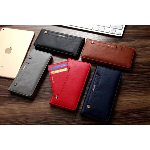 iPhone8/8 Plus対応 スマホケース 手帳型 レザーケース カード収納 iPhone8ケース 革製 高級 アイフォン8 スライド 最新 おしゃれ 名入れ エレガント シンプル|navy-pink|06