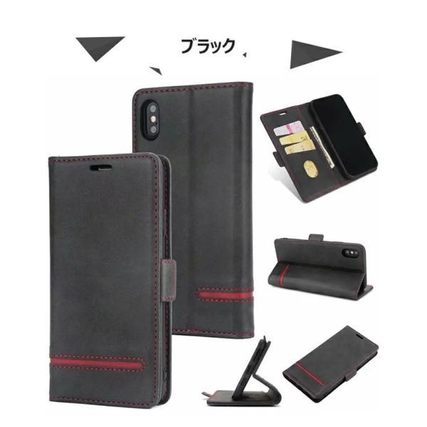 手帳型 ケース iPhone XS Max XR xs ケース88 Plus 7 7 Plus スマホケース  PUレザー 手帳型ケース カード収納 スタンド機能 高級感|navy-pink|11