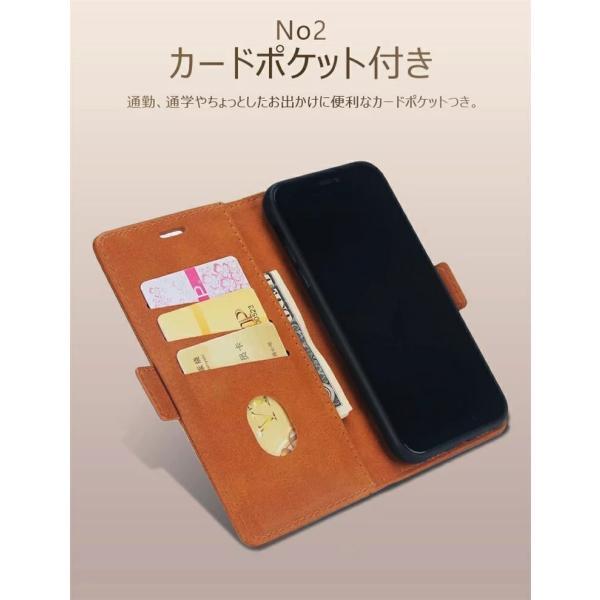 手帳型 ケース iPhone XS Max XR xs ケース88 Plus 7 7 Plus スマホケース  PUレザー 手帳型ケース カード収納 スタンド機能 高級感|navy-pink|04