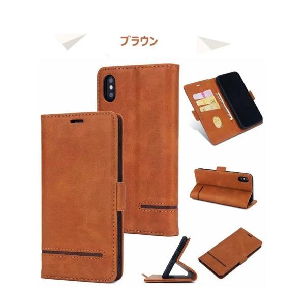 手帳型 ケース iPhone XS Max XR xs ケース88 Plus 7 7 Plus スマホケース  PUレザー 手帳型ケース カード収納 スタンド機能 高級感|navy-pink|08