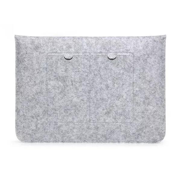 MacBook Pro Retina 15.4 インチ ケース MacBook 12用 インナー ケース PC mac book air macbook pro 13.3 15.4 ケース カバー フェルト ケース 封筒型|navy-pink|03