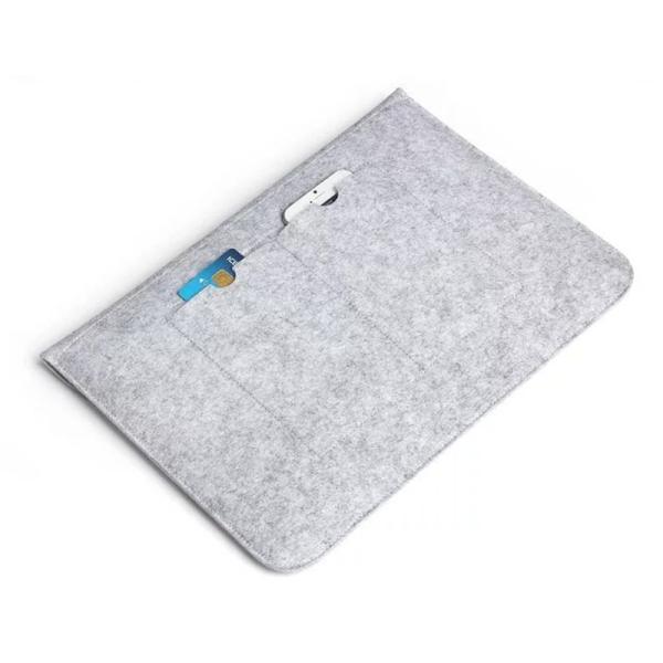 MacBook Pro Retina 15.4 インチ ケース MacBook 12用 インナー ケース PC mac book air macbook pro 13.3 15.4 ケース カバー フェルト ケース 封筒型|navy-pink|05