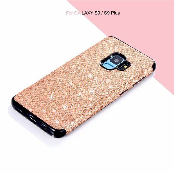 Samsung Galaxy S9 Plus ケース S9 カバー Galaxy S9 SC-02K Galaxy S9+ SCV38 SCV39 背面ケース キラキラ ピカピカ ソフトケース ギャラクシー S9/S9 プラス|navy-pink|04