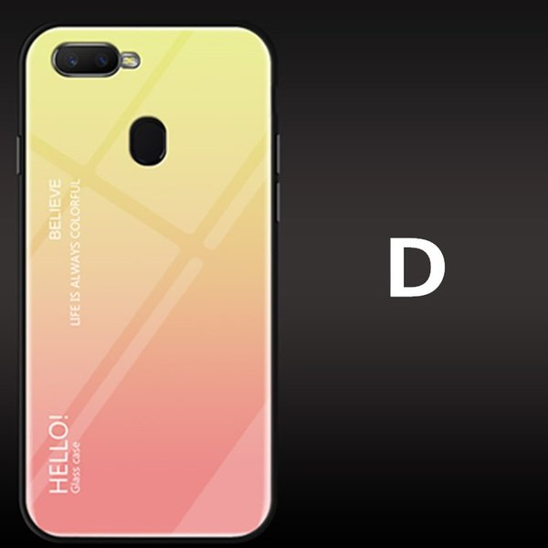 OPPO A7X OPPO R17 PRO OPPO Find X ケース カバー スマホケース 保護ケース 背面強化ガラス+TPU 高級感 背面保護 お洒落 oppo a7x携帯カバー navy-pink 13