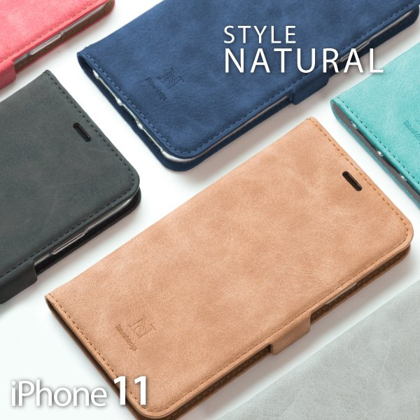 iPhone11 ケース iPhone11Pro Max ケース 手帳型 iPhone 11 アイフォン11 pro ケース カバー STYLE NATURAL