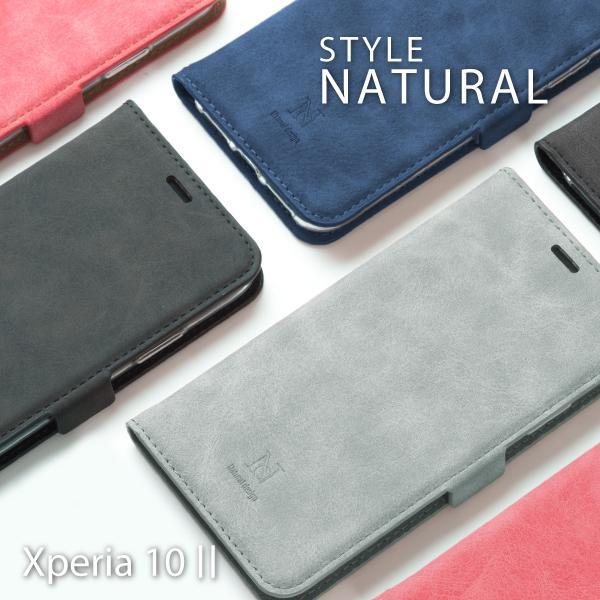 xperia5 ケース xperia8 ケース 手帳 エクスペリア 5 8 カバー スマホカバー スマホケース STYLE NATURAL