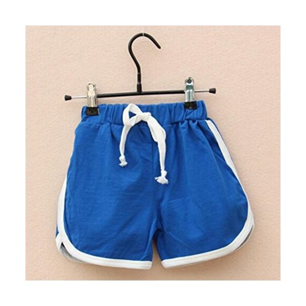 BAO8 子供服男の子女の子 スポーツパンツ 無地 キャンディーカラー ショートパンツ ファッションパンツ パンツ 夏物 スポーツウェア nearside