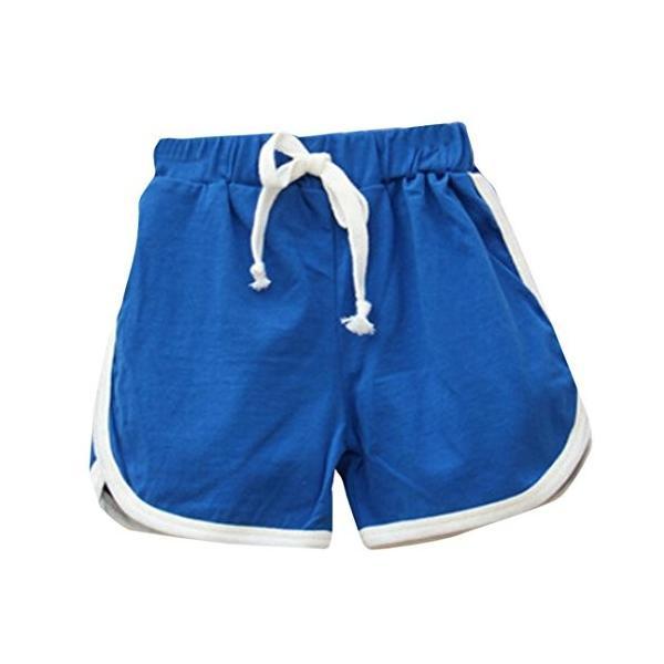 BAO8 子供服男の子女の子 スポーツパンツ 無地 キャンディーカラー ショートパンツ ファッションパンツ パンツ 夏物 スポーツウェア nearside 02