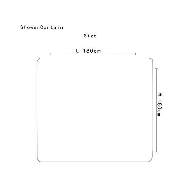 乗馬人シルエットパターンシャワーカーテンフロアマット浴室トイレシート4ピースカーペット吸水率は色あせない汎用性の高い快適な柔らかいバスルームマットは洗|nearside|02