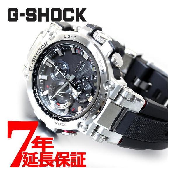 店内最大24倍 GショックMT-GG-SHOCK電波ソーラーメンズ腕時計MTG-B1000-1AJFジーショック