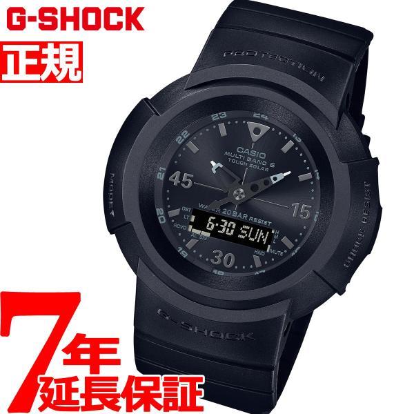 店内最大26倍 GショックG-SHOCK電波ソーラーメンズ腕時計AWG-M520BB-1AJFジーショック