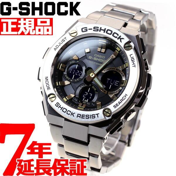 店内最大26倍 GショックGスチールG-SHOCKG-STEEL電波ソーラー腕時計メンズGST-W110D-1A9JFジーショッ