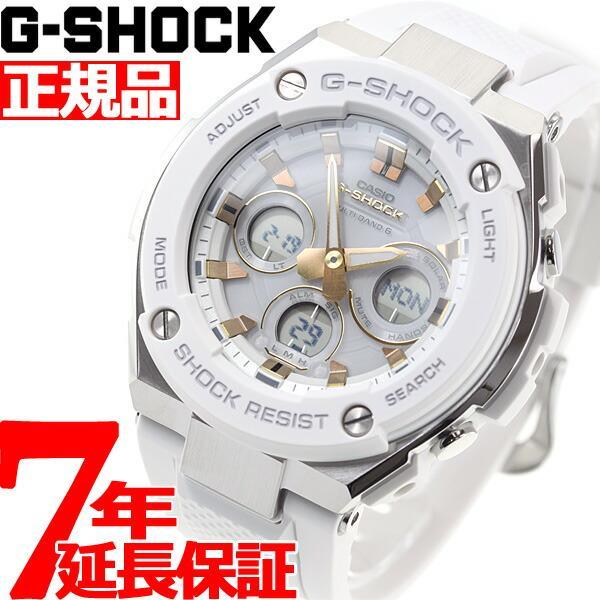 店内最大26倍 GショックGスチールG-SHOCKG-STEEL電波ソーラー腕時計メンズGST-W300-7AJF