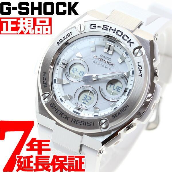 店内最大26倍 GショックGスチールG-SHOCKG-STEEL電波ソーラー腕時計メンズGST-W310-7AJF