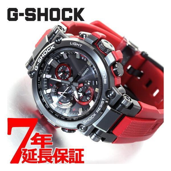 店内最大26倍 GショックMT-GG-SHOCK電波ソーラーメンズ腕時計MTG-B1000B-1A4JFジーショック