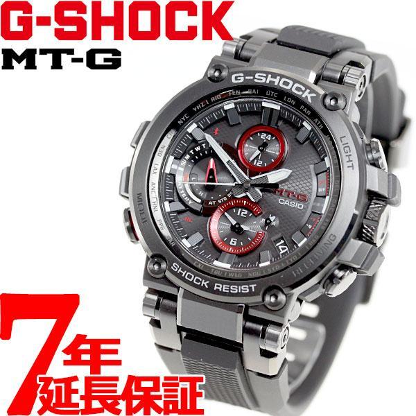 店内最大26倍 GショックMT-GG-SHOCK電波ソーラーメンズ腕時計MTG-B1000B-1AJFジーショック