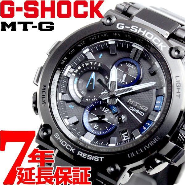 店内最大26倍 GショックMT-GG-SHOCK電波ソーラーメンズ腕時計MTG-B1000BD-1AJFジーショック