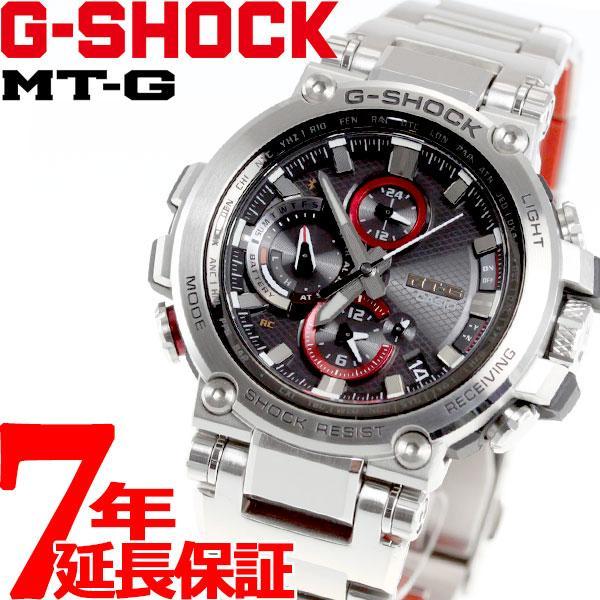 店内最大26倍 GショックMT-GG-SHOCK電波ソーラーメンズ腕時計MTG-B1000D-1AJFジーショック